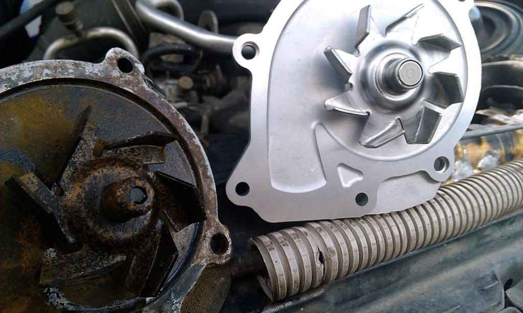 Замена помпы двигателя Пежо в Екатеринбурге