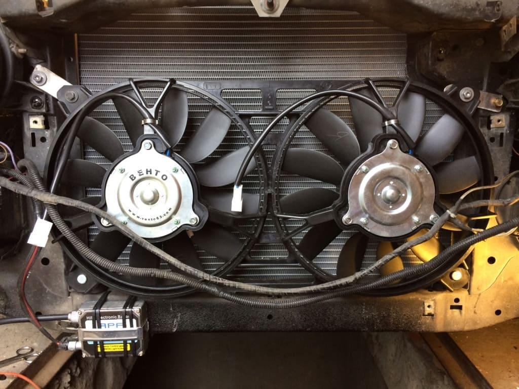 Замена вентилятора охлаждения Ситроен в Екатеринбурге
