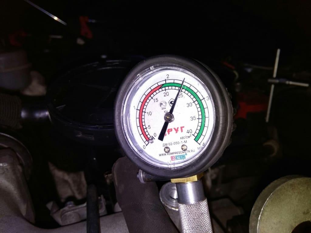 Замер компрессии двигателя Пежо в Екатеринбурге